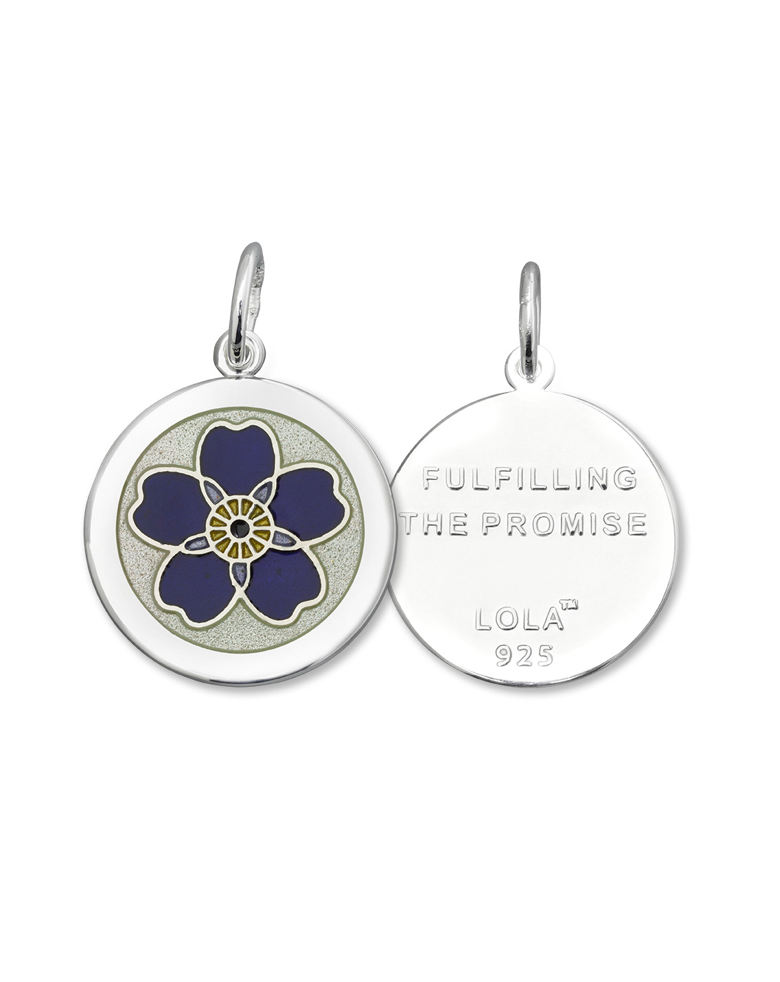 Exclusive Lola Forget Me Not Pendant